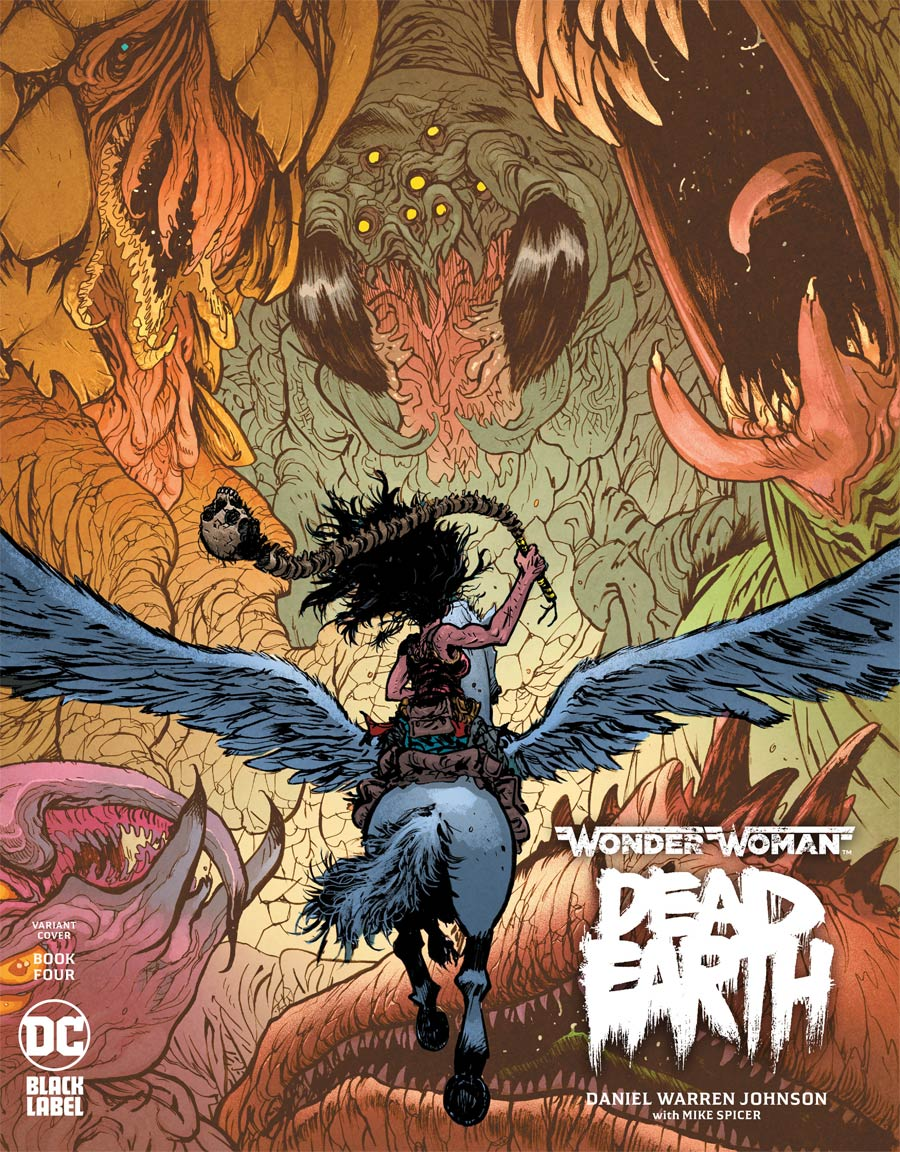 Wonder Woman Dead Earth #4 Cover B Variant Daniel Warren Johnson Cover