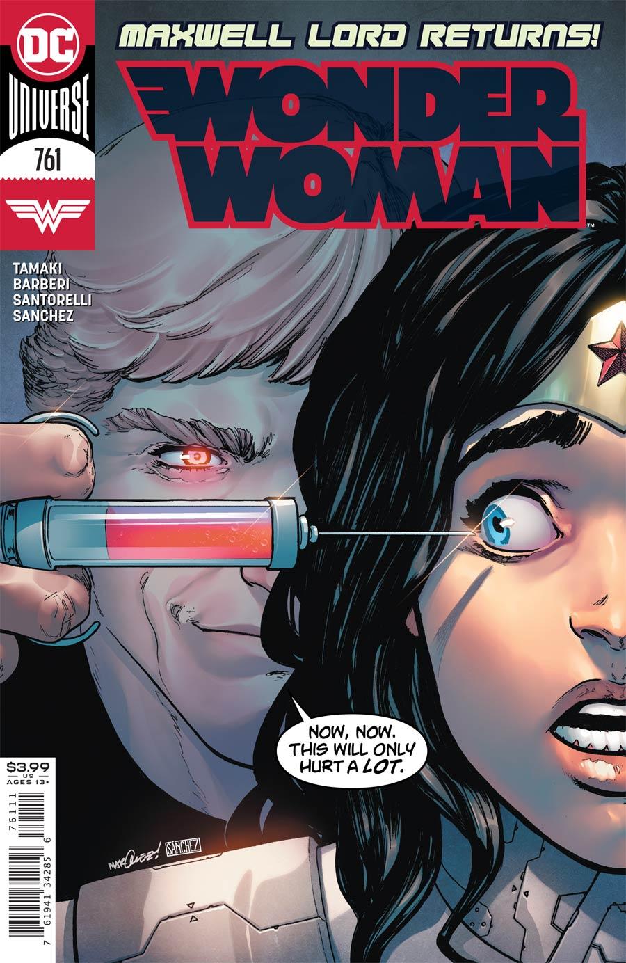 Wonder Woman Vol 5 #761 Cover A Regular David Marquez Cover