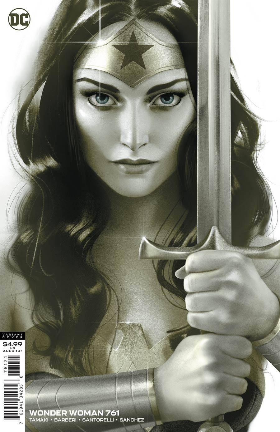 Wonder Woman Vol 5 #761 Cover B Variant Joshua Middleton Card Stock Cover