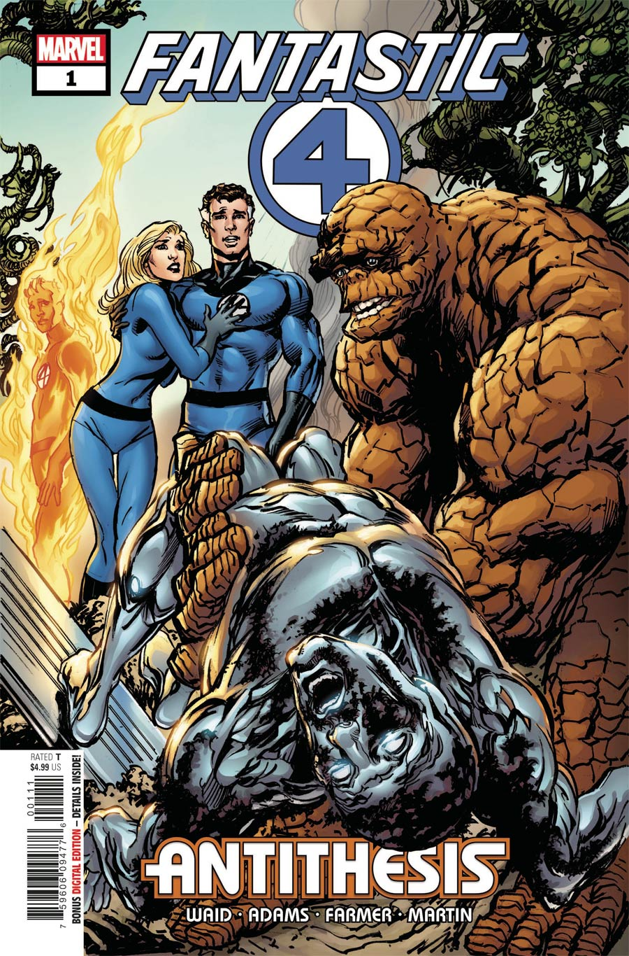 Fantastic Four Antithesis #1 Cover A 1st Ptg Regular Neal Adams Cover