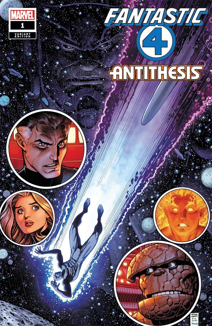 Fantastic Four Antithesis #1 Cover B Variant Arthur Adams Cover