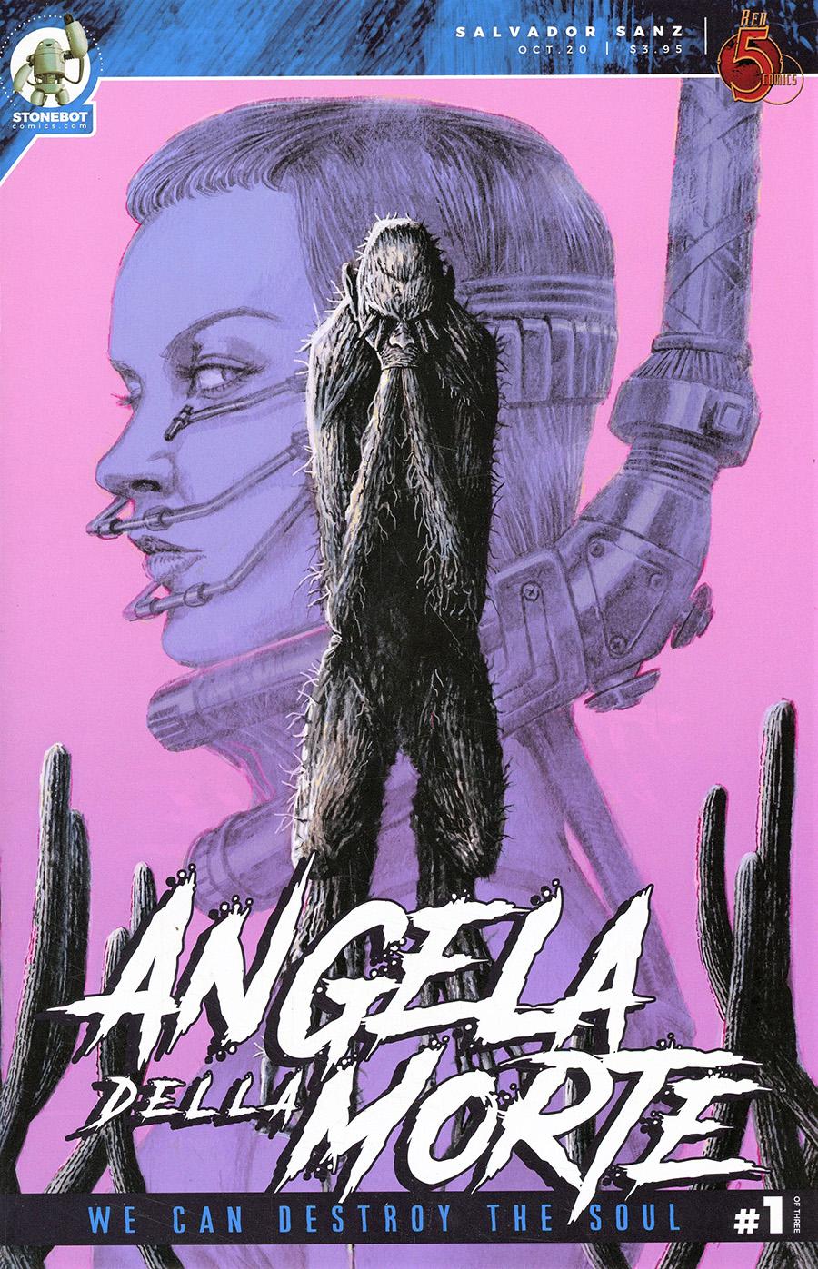 Angela Della Morte Vol 2 #1