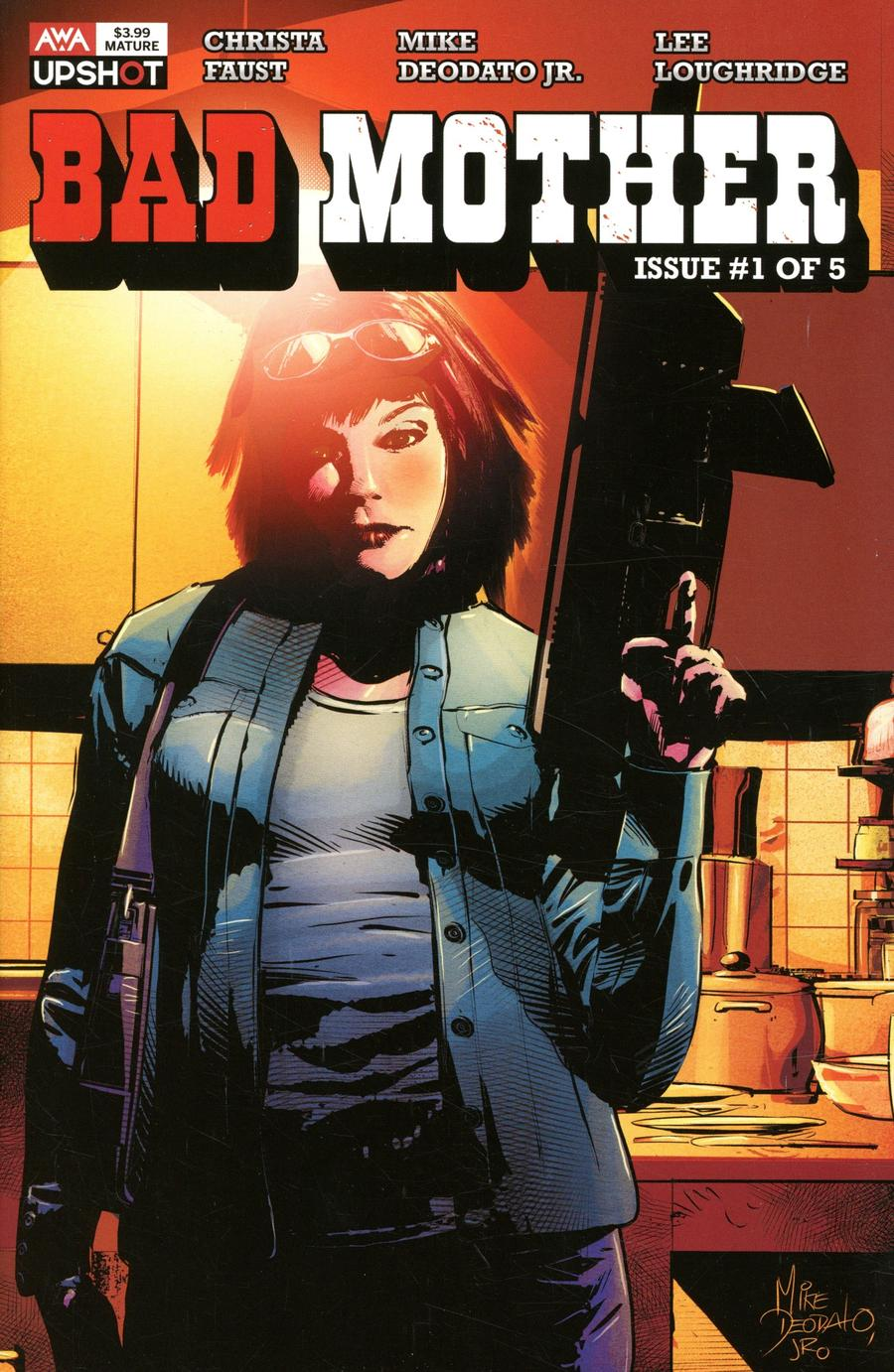 Bad Mother #1 Cover A Regular Mike Deodato Jr Cover