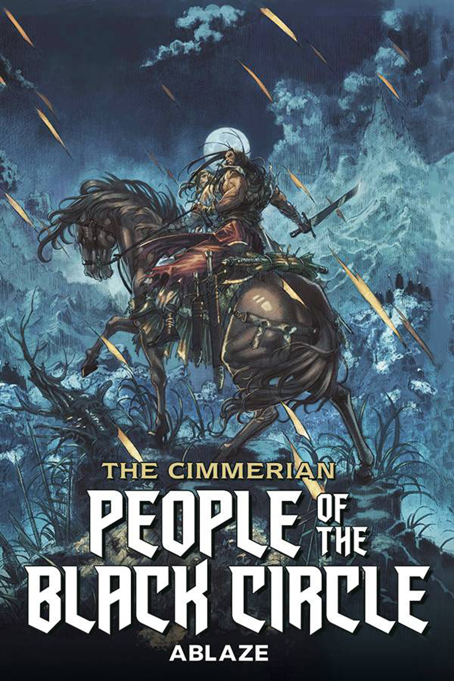 Cimmerian People Of The Black Circle #1 Cover A Regular Jae Kwang Park Cover
