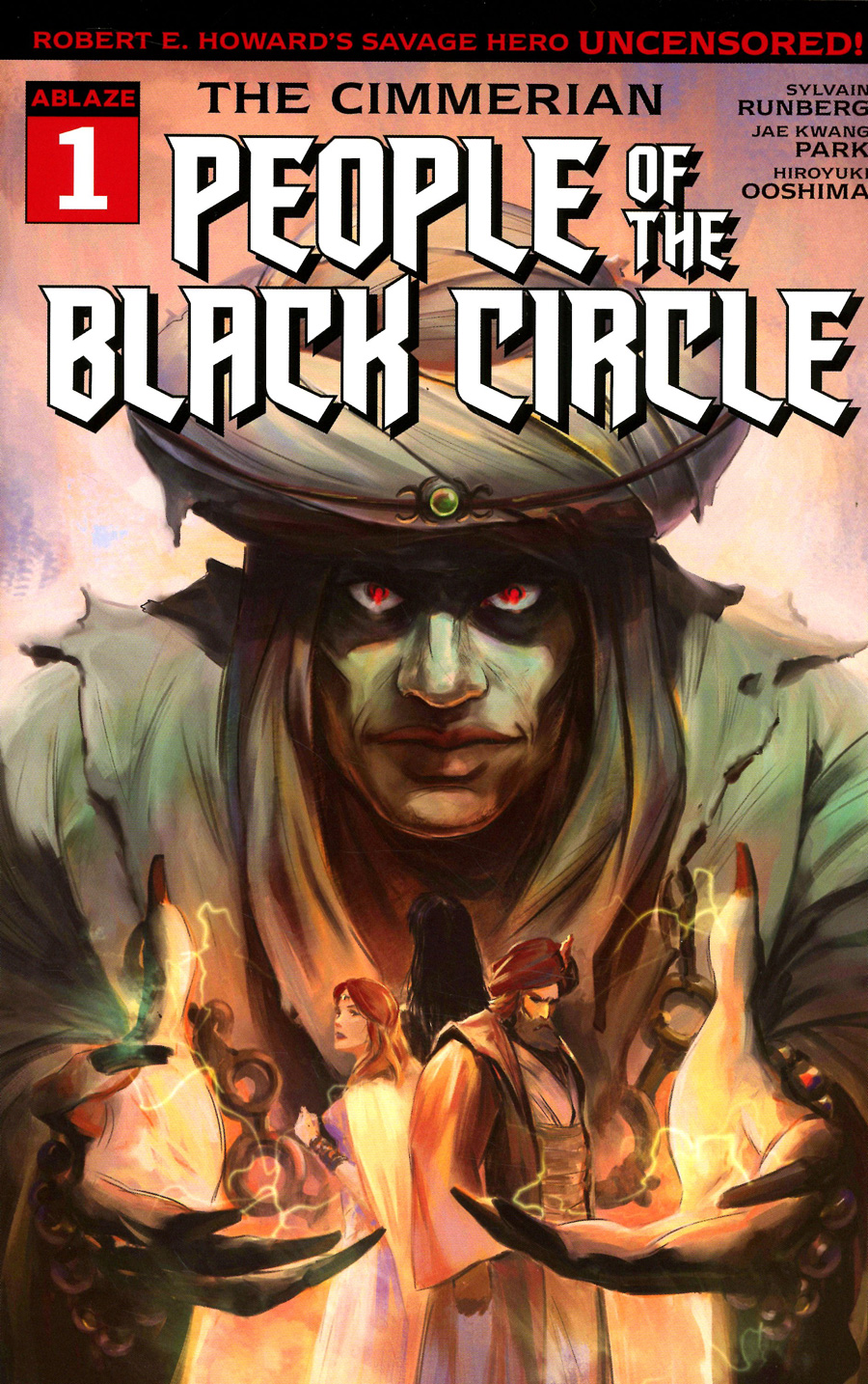 Cimmerian People Of The Black Circle #1 Cover B Variant Fred Rambaud Cover
