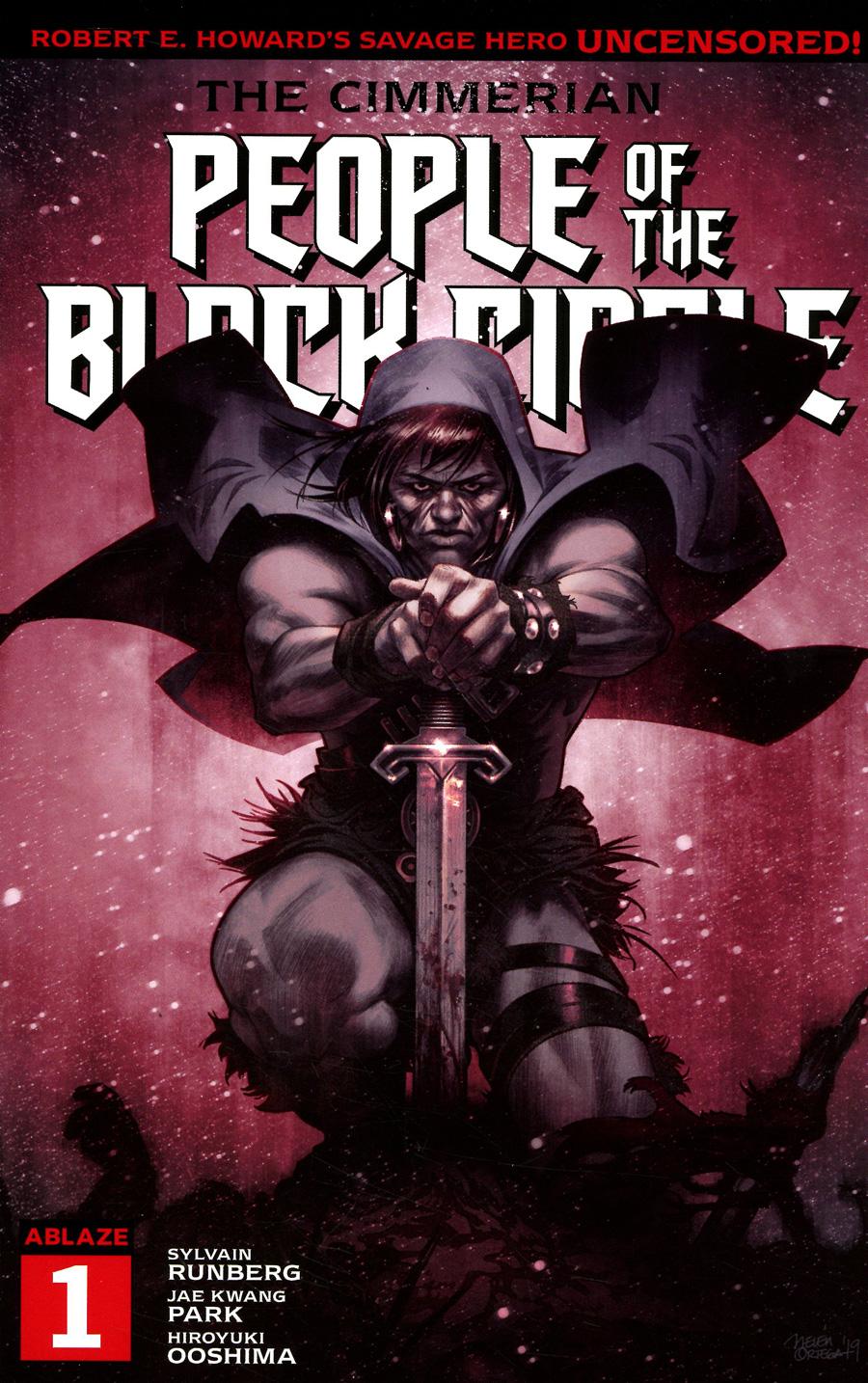 Cimmerian People Of The Black Circle #1 Cover D Variant Belen Ortega Cover