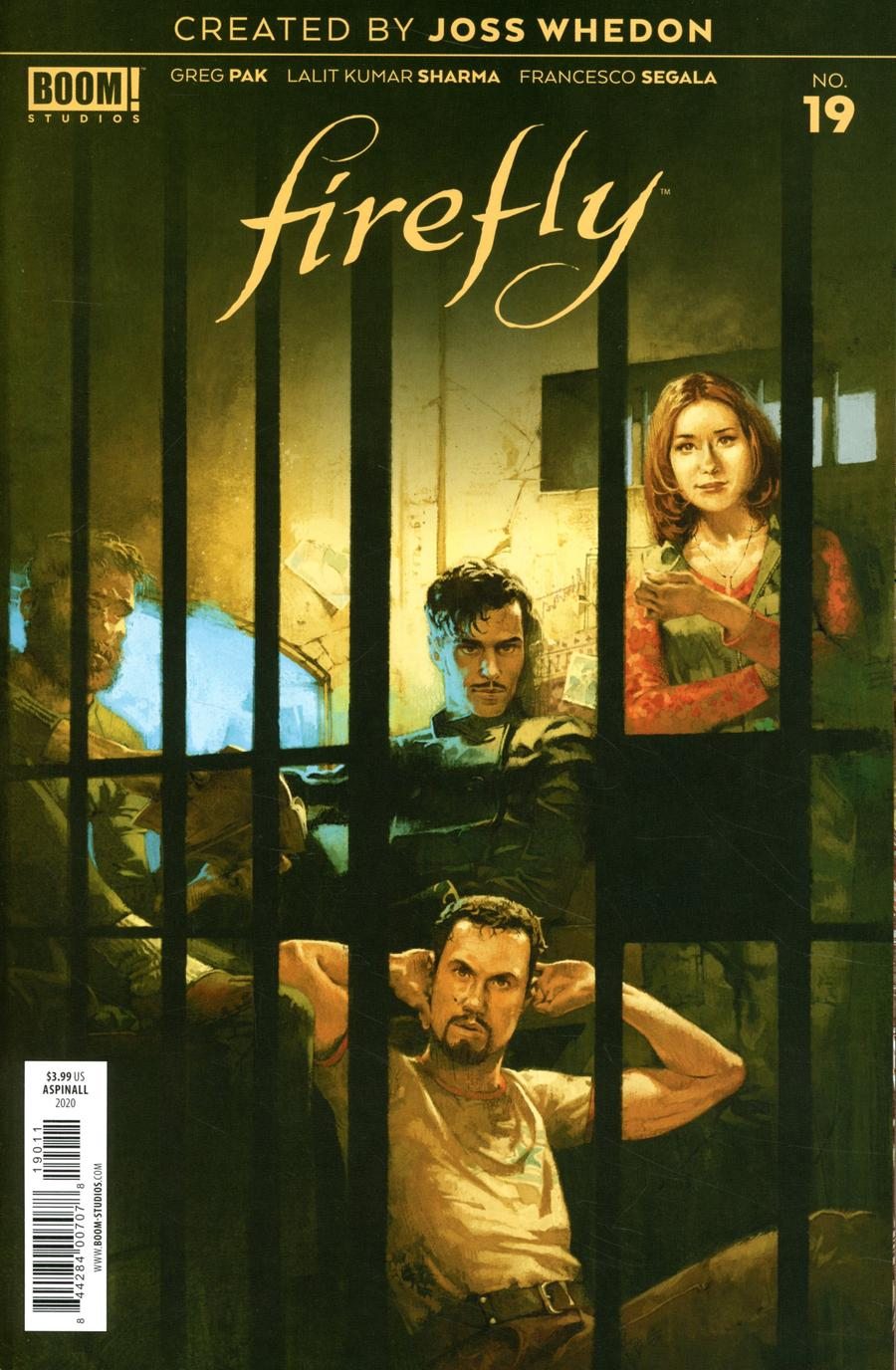 Firefly #19 Cover A Regular Marc Aspinall Cover