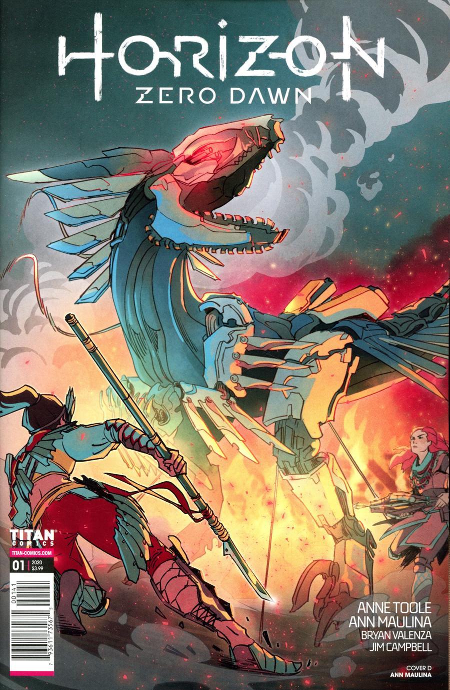 Horizon Zero Dawn #1 Cover D Variant Ann Maulina Cover