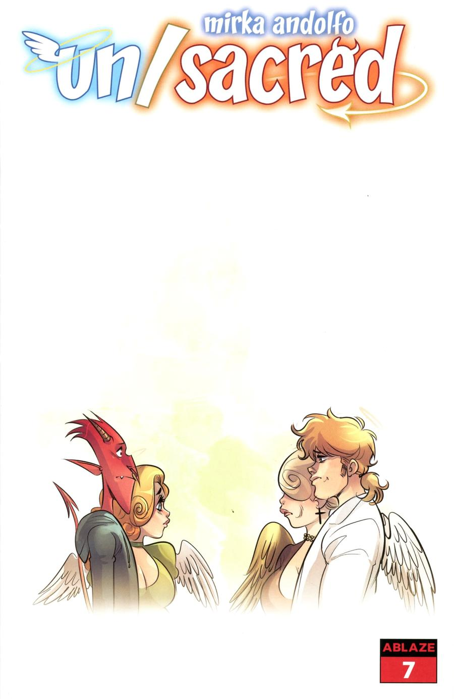 Mirka Andolfos Unsacred #7 Cover C Variant Damiano & Angelina With Mom Cover
