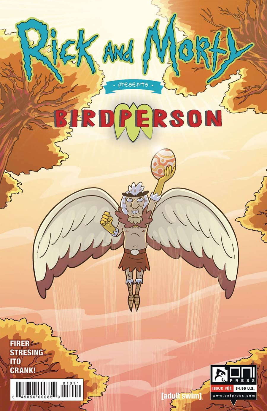 Rick And Morty Presents Birdperson #1 Cover A Regular Fred C Stresing Cover