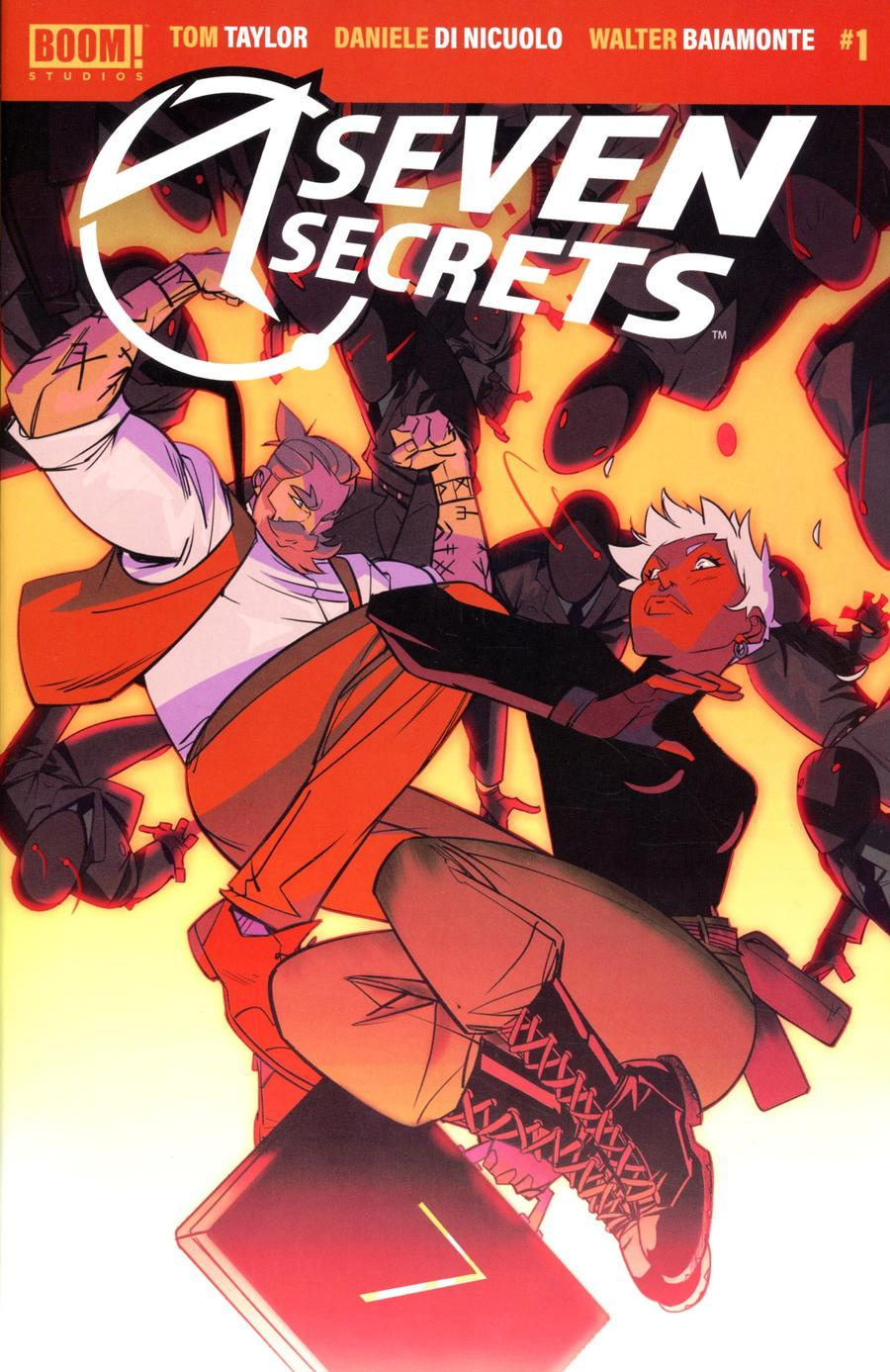 Seven Secrets #1 Cover A 1st Ptg Regular Daniele Di Nicuolo Cover