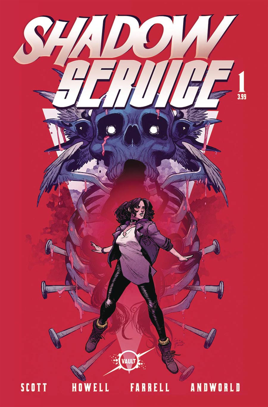 Shadow Service #1 Cover A Regular Corin Howell & Triona Farrell Cover
