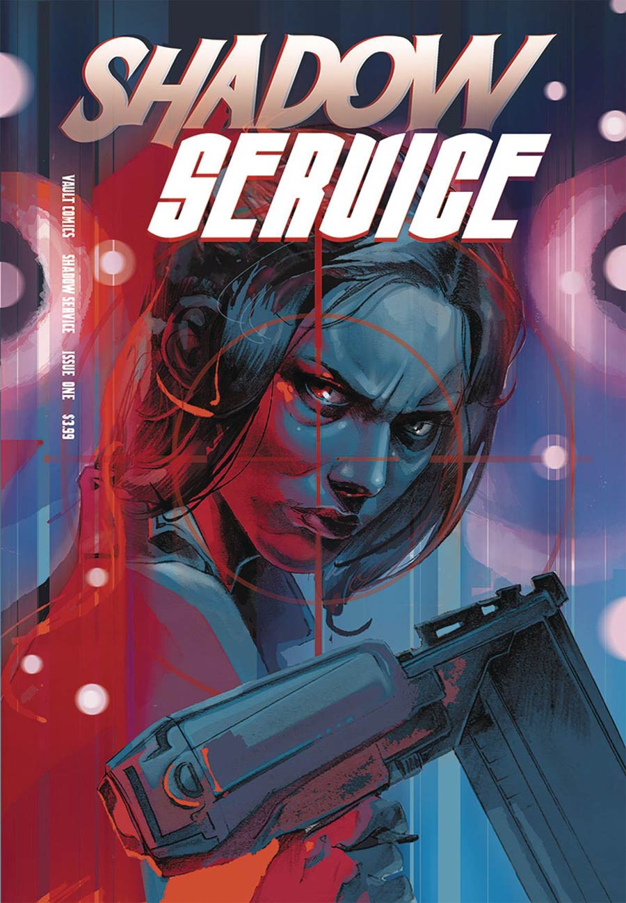 Shadow Service #1 Cover B Variant Tim Daniel & Nathan Gooden Cover
