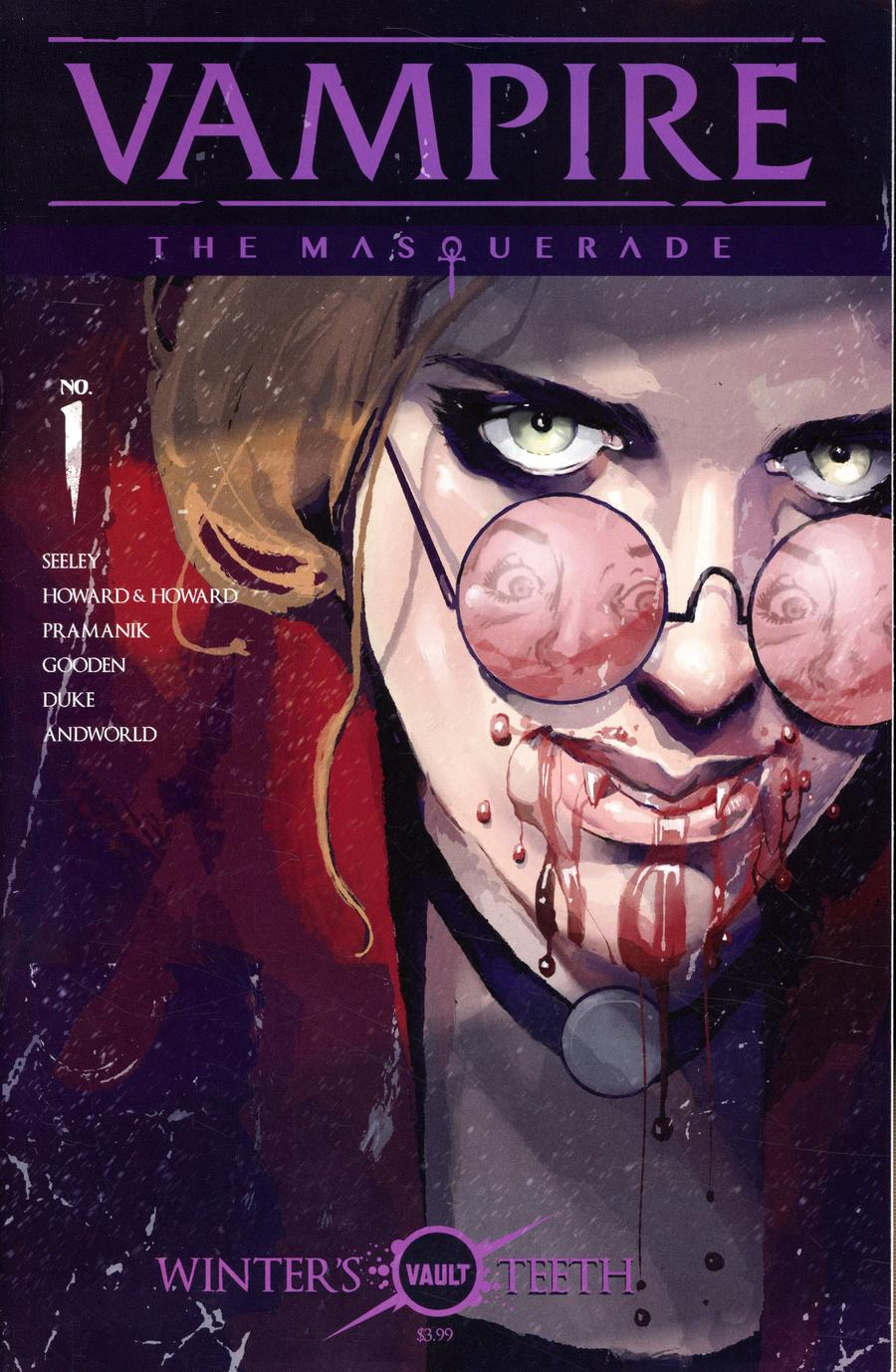 Vampire The Masquerade #1 Cover B Variant Tim Daniel & Nathan Gooden Cover
