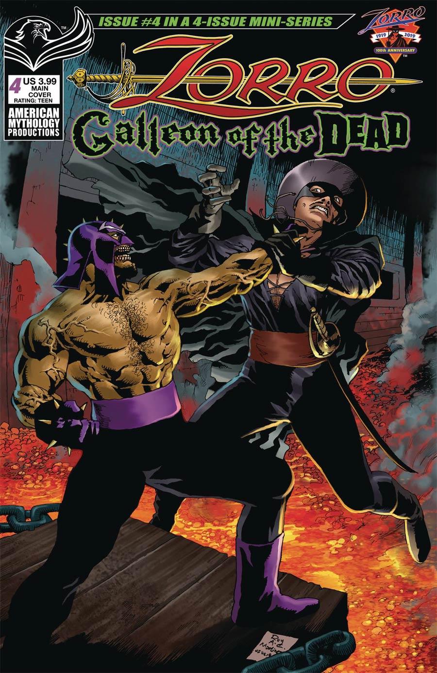 Zorro Galleon Of The Dead #4 Cover A Regular Roy Allan Martinez Cover