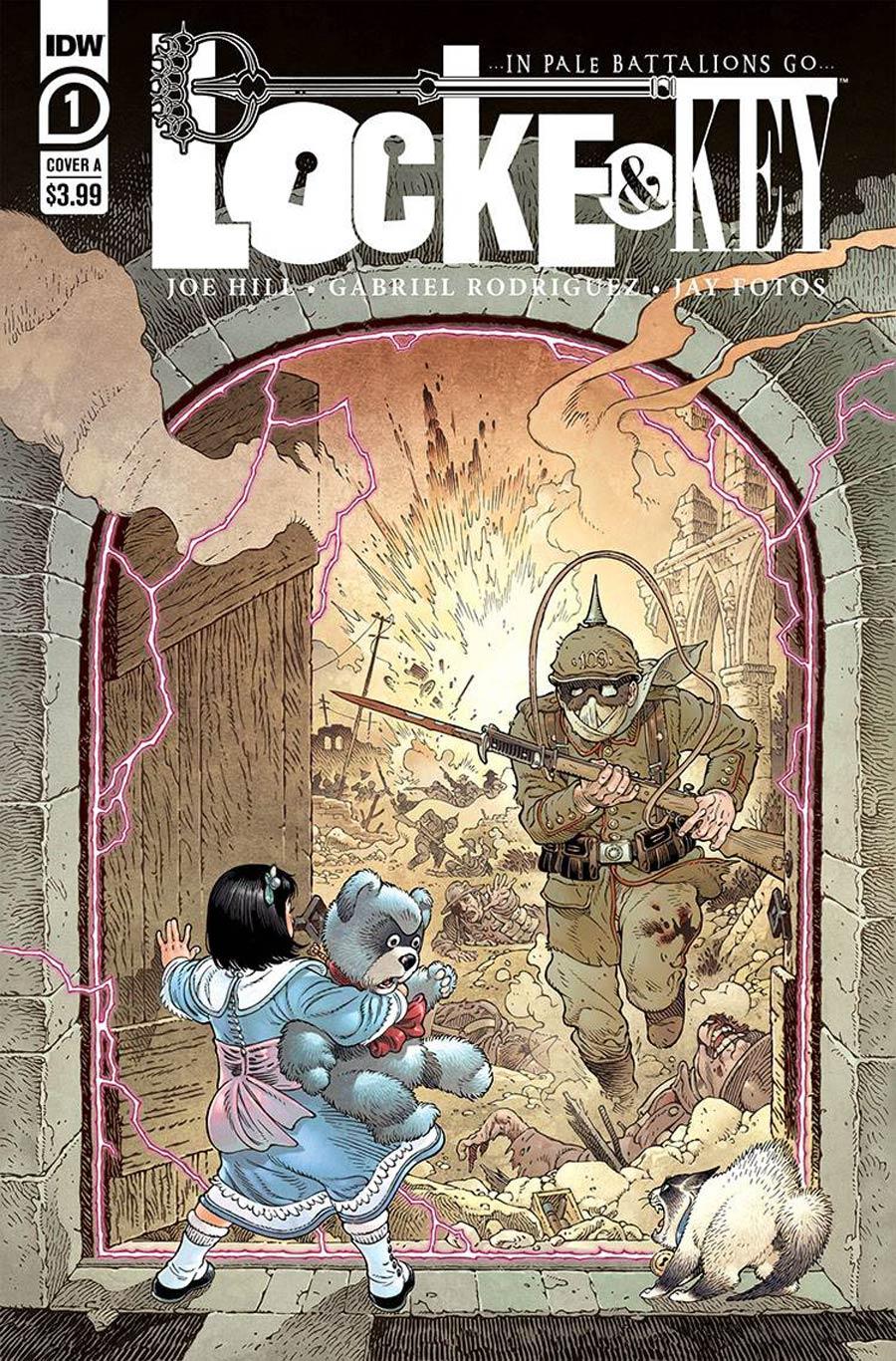 Locke & Key In Pale Battalions Go #1 Cover A Regular Gabriel Rodriguez Cover