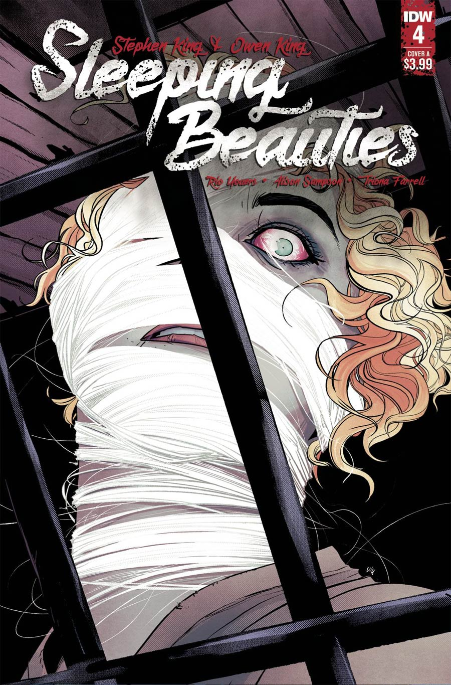 Sleeping Beauties #4 Cover A Regular Annie Wu Cover