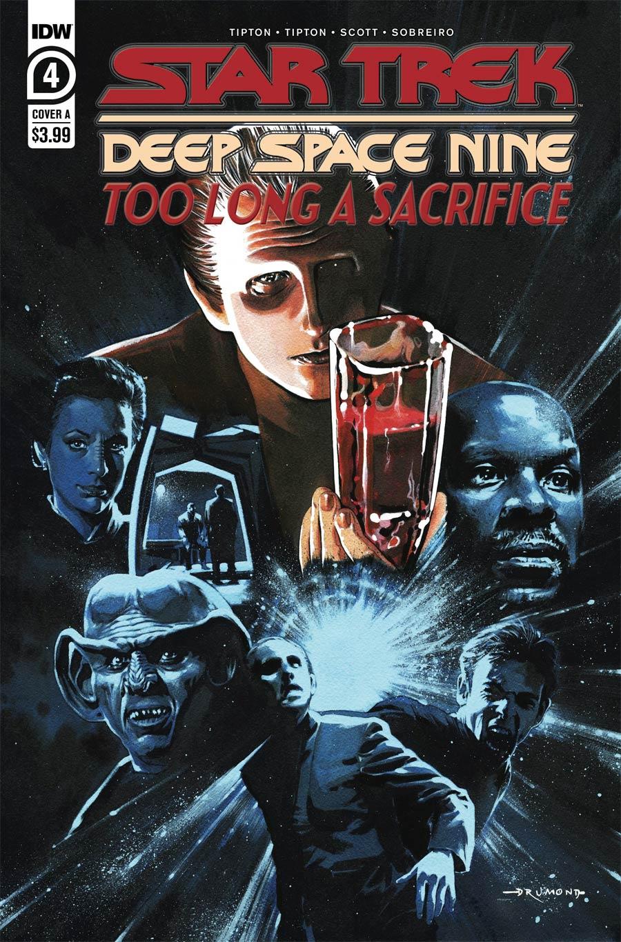 Star Trek Deep Space Nine Too Long A Sacrifice #4 Cover A Regular Ricardo Drumond Cover