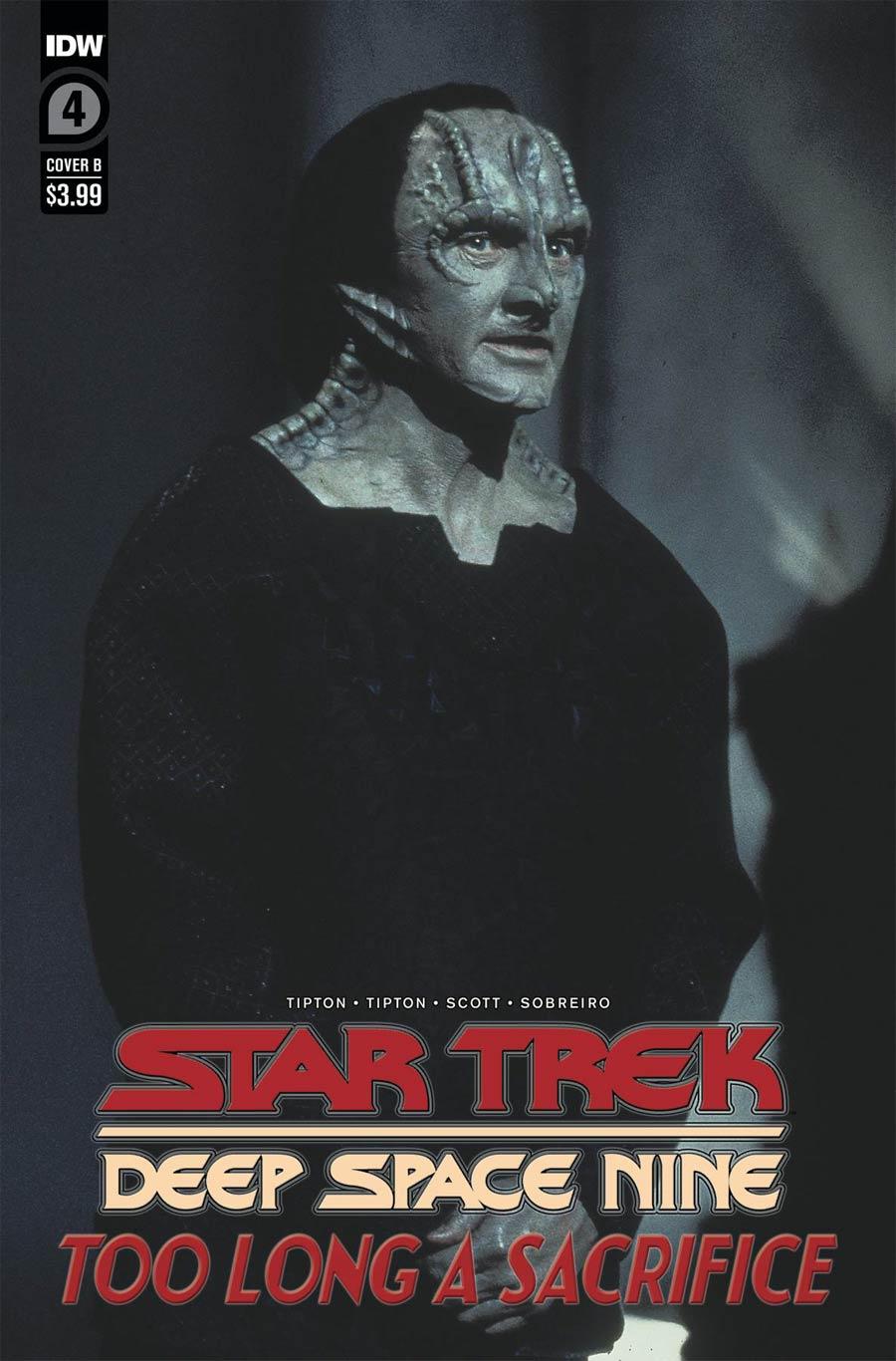 Star Trek Deep Space Nine Too Long A Sacrifice #4 Cover B Variant Photo Cover