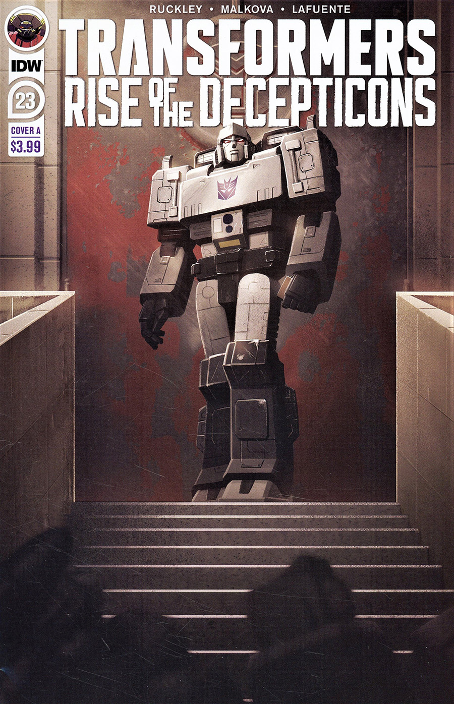Transformers Vol 4 #23 Cover A Regular Joana Lafuente Cover