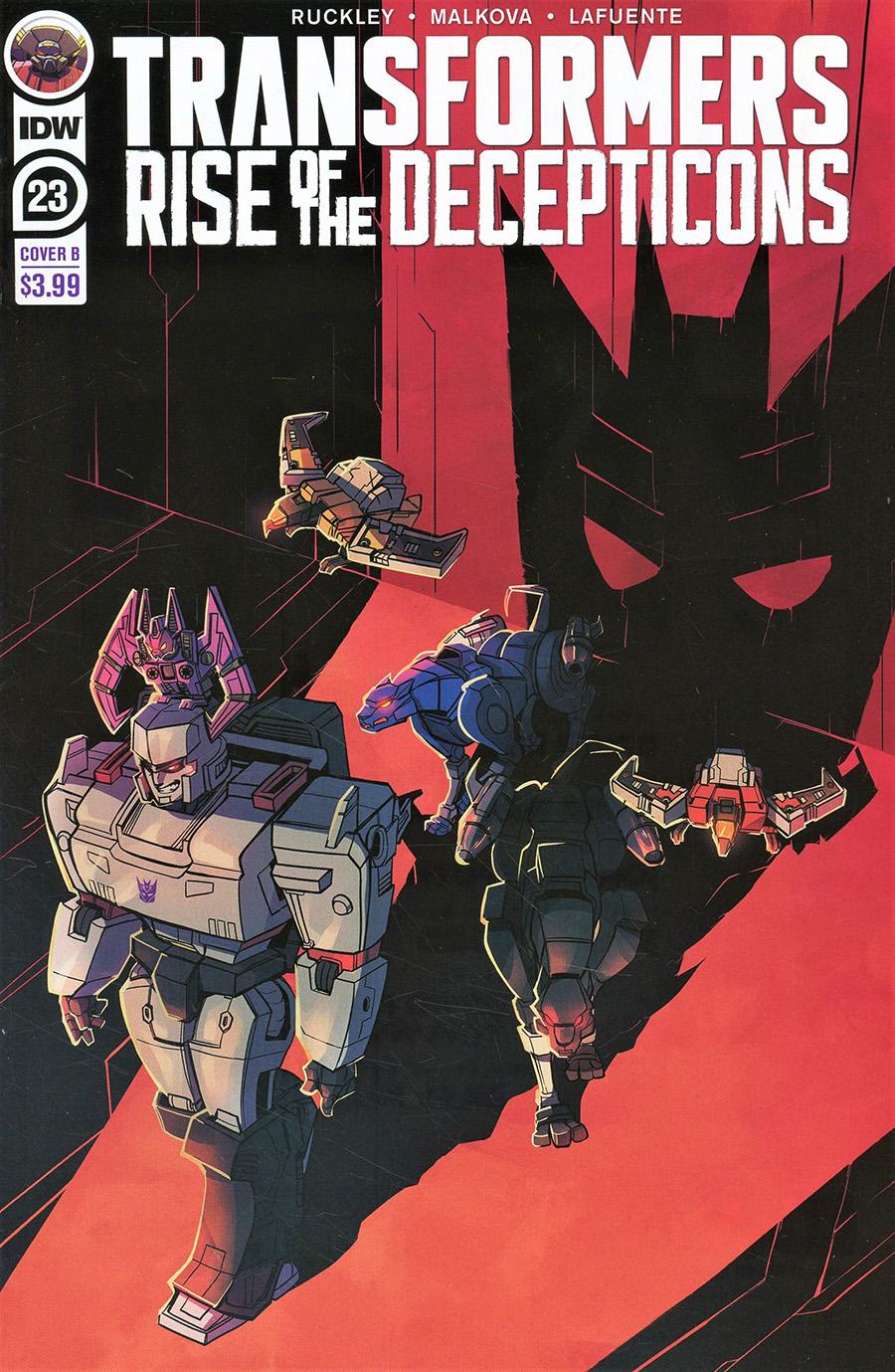 Transformers Vol 4 #23 Cover B Variant Aline Herzspalter Baumgartner Cover
