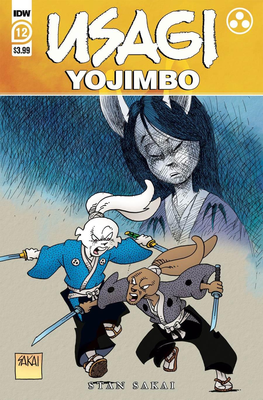 Usagi Yojimbo Vol 4 #12