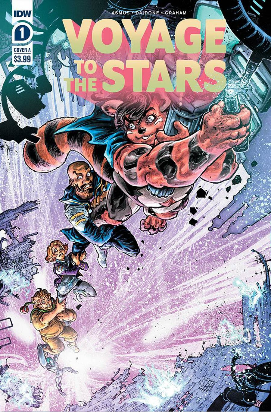 Voyage To The Stars #1 Cover A 1st Ptg Regular Freddie E Williams II Cover