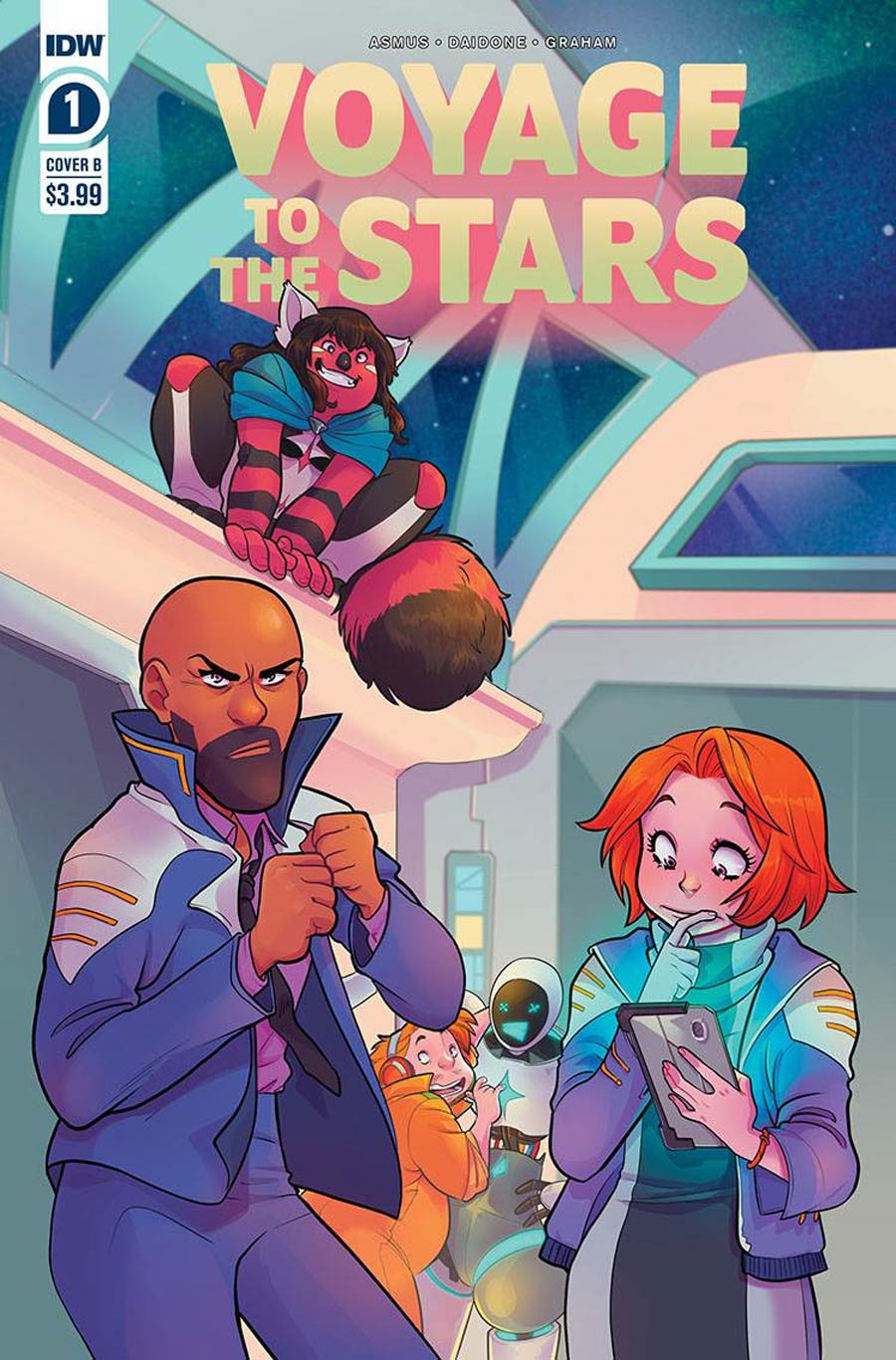 Voyage To The Stars #1 Cover B Variant Connie Daidone Cover