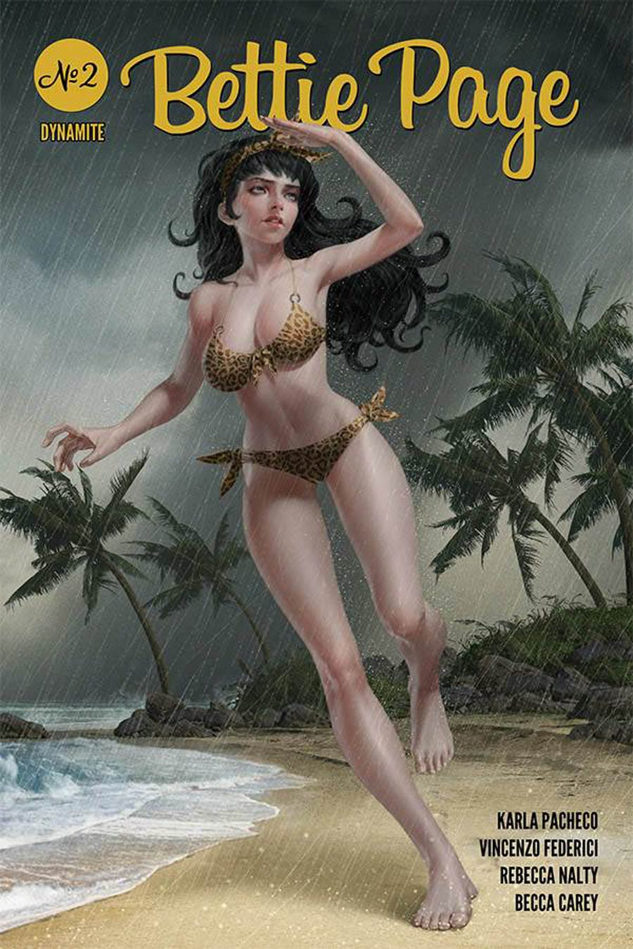 Bettie Page Vol 3 #2 Cover A Regular Junggeun Yoon Cover