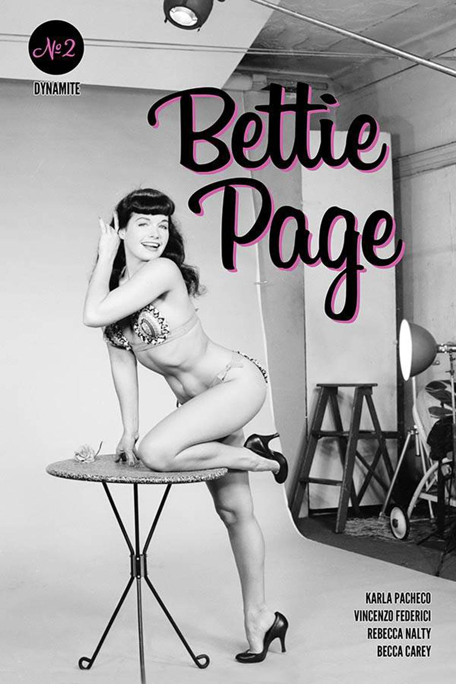 Bettie Page Vol 3 #2 Cover E Variant Bettie Page Photo Cover