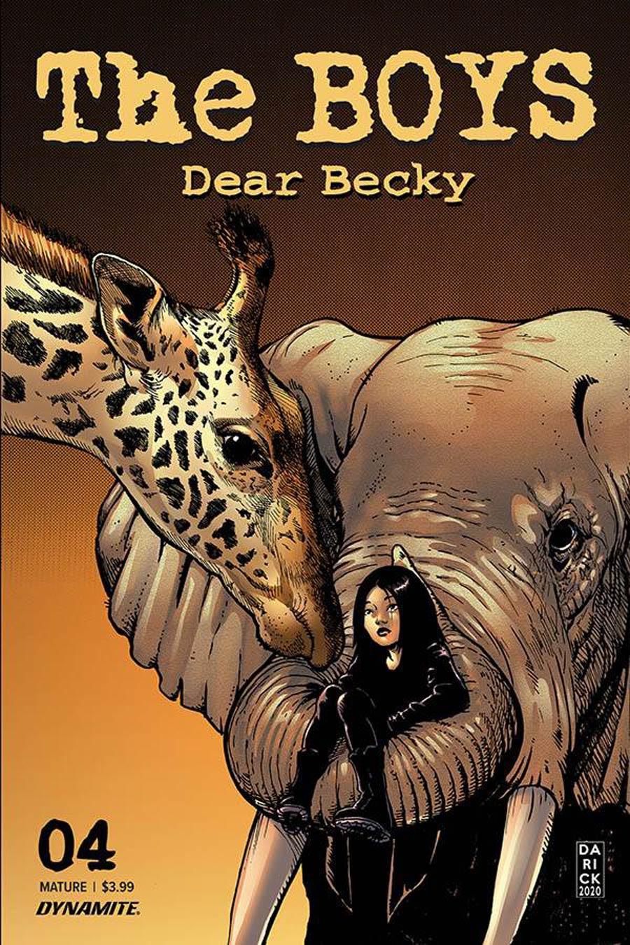 Boys Dear Becky #4 Cover A Regular Darick Robertson Cover