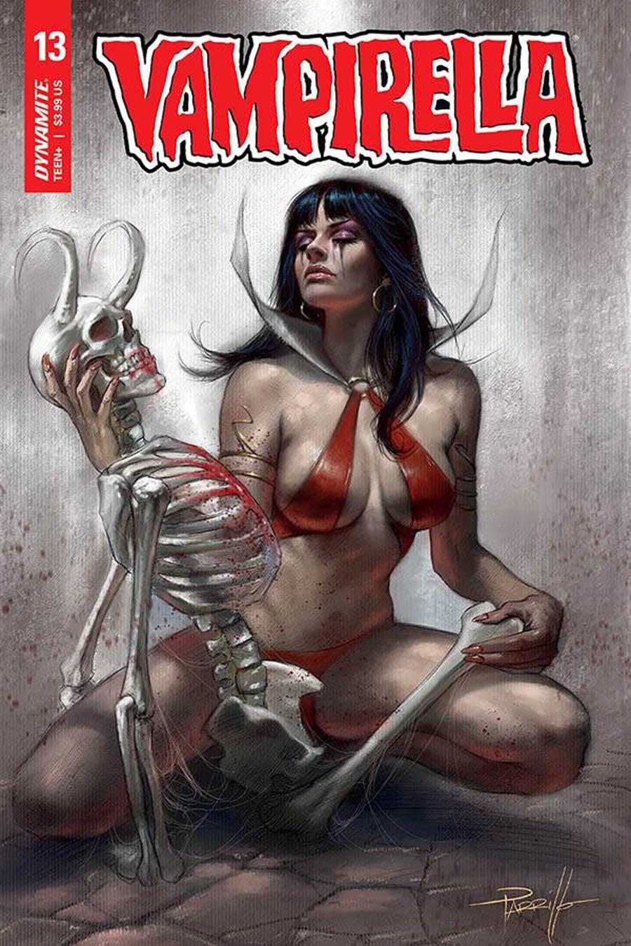 Vampirella Vol 8 #13 Cover A Regular Lucio Parrillo Cover