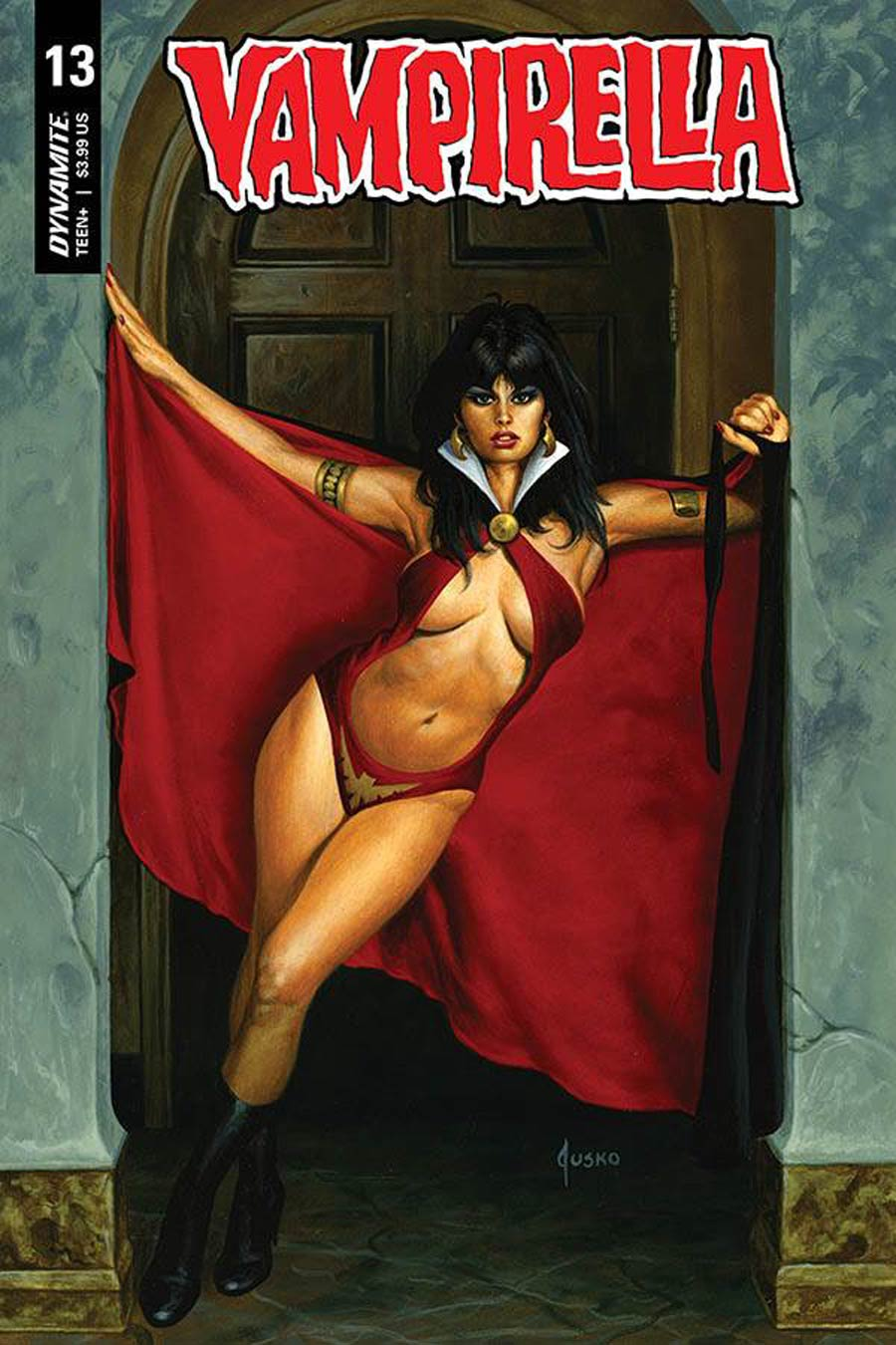 Vampirella Vol 8 #13 Cover B Variant Joe Jusko Cover