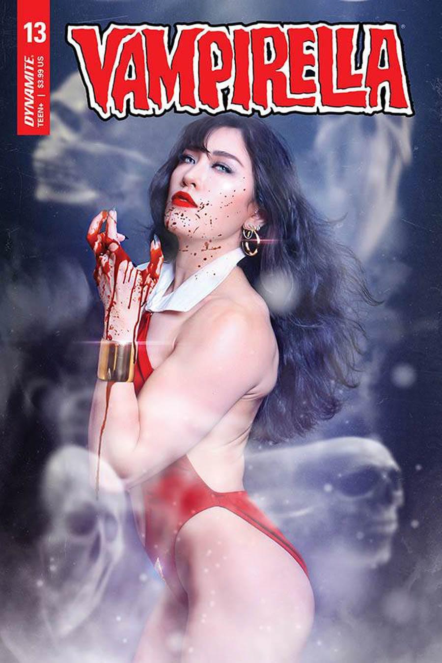 Vampirella Vol 8 #13 Cover E Variant Krista Lee Cosplay Photo Cover