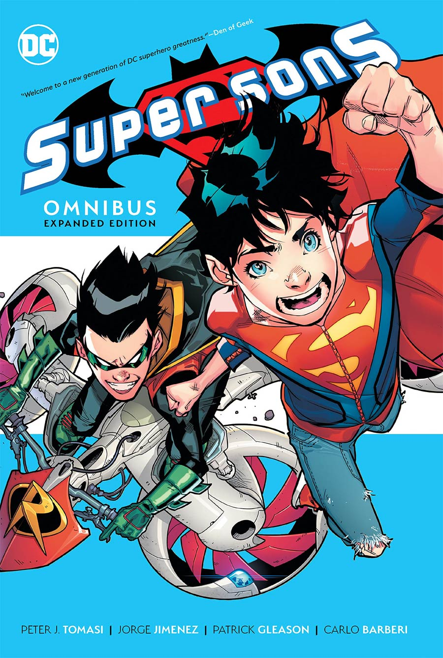 Super Sons Omnibus Expanded Edition HC