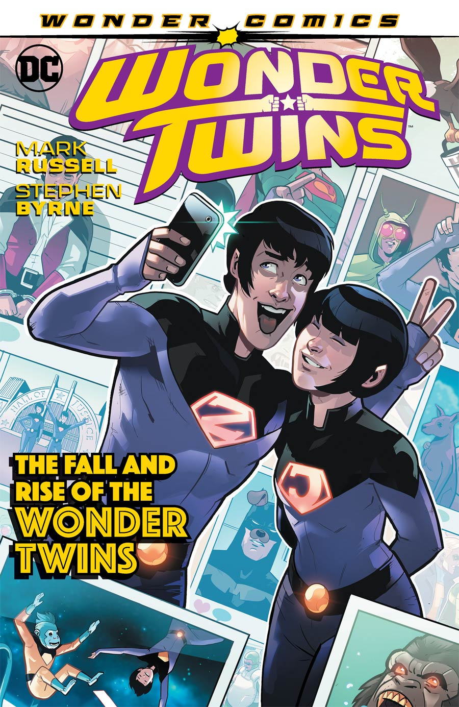 Wonder Twins Vol 2 The Fall And Rise Of The Wonder Twins TP