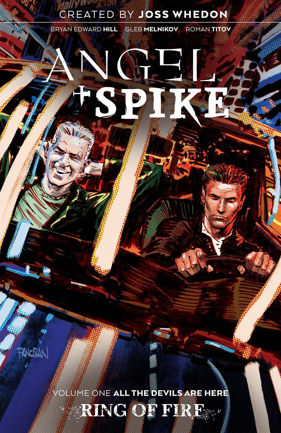 Angel & Spike Vol 1 All The Devils Are Here TP