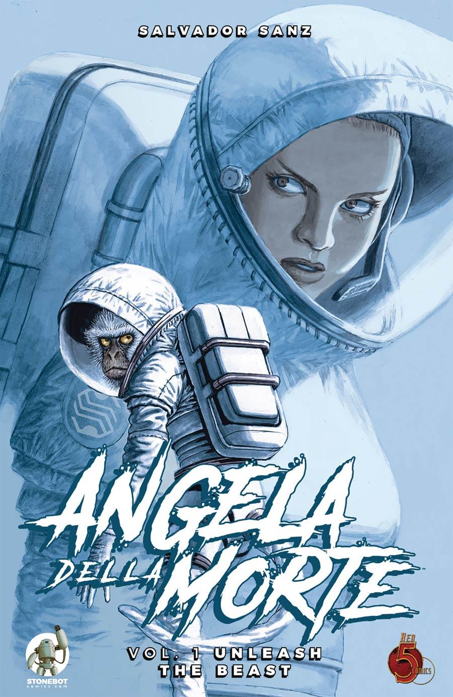 Angela Della Morte Vol 1 Unleash The Beast TP