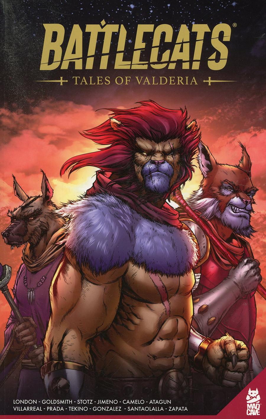Battlecats Tales Of Valderia Vol 1 TP