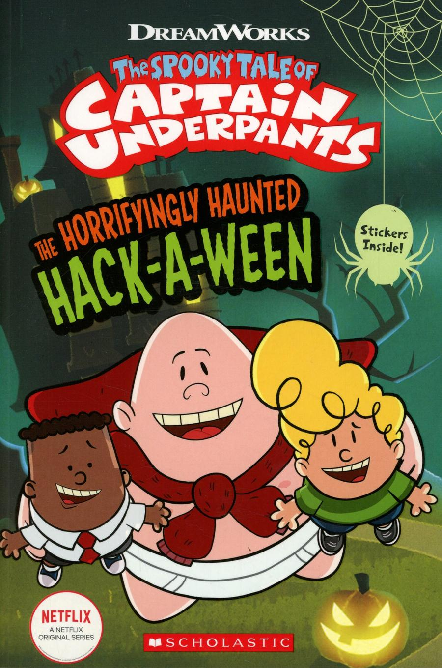 Captain Underpants The Horrifyingly Haunted Hack-A-Ween TP Comic Reader #1