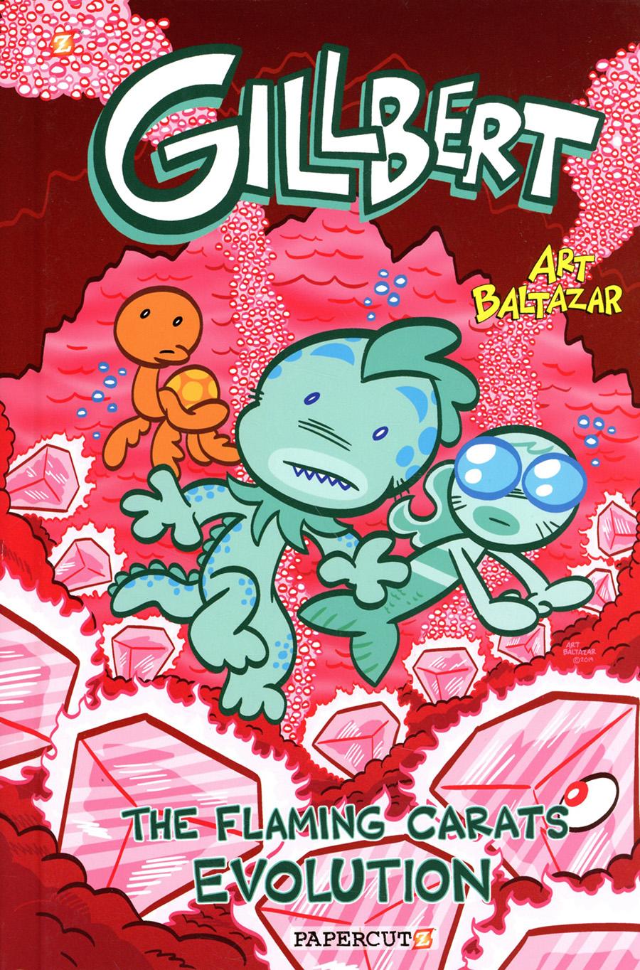 Gillbert The Little Merman Vol 3 Flaming Carats Evolution HC