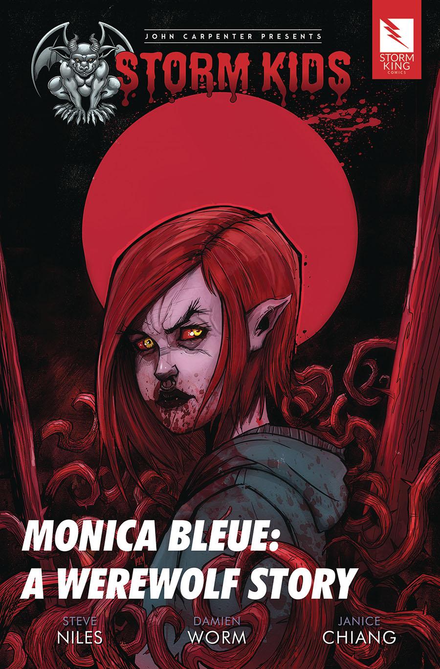 John Carpenter Presents Storm Kids Monica Bleue A Werewolf Story TP