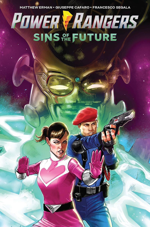 Power Rangers Sins Of The Future Original Graphic Novel TP