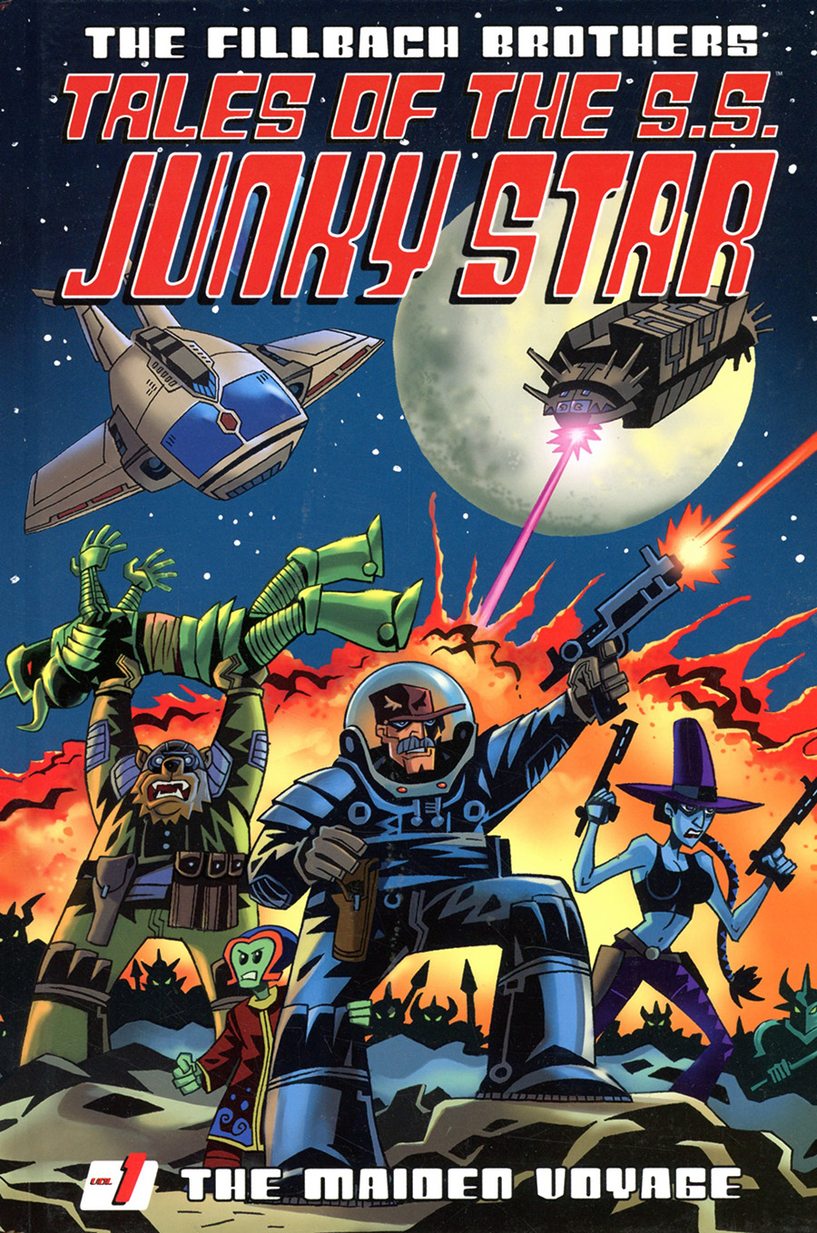Tales Of The SS Junky Star Vol 1 The Maiden Voyage HC