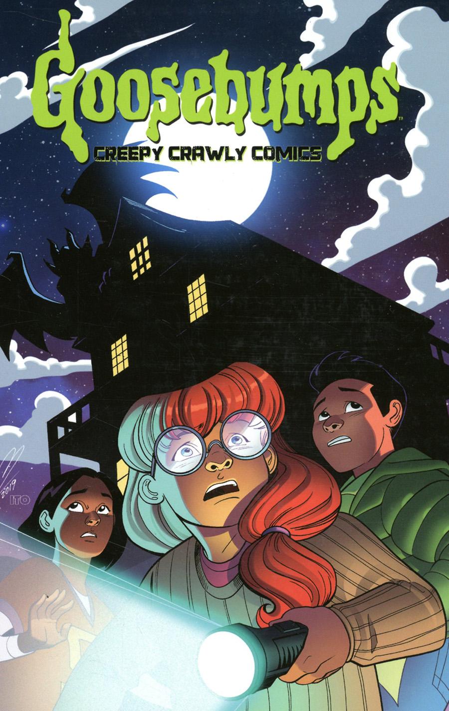 Goosebumps Creep Crawly Comics TP