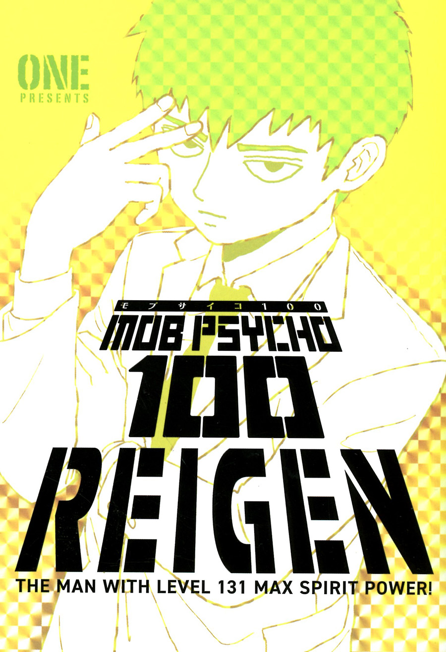 Mob Psycho 100 Reigen The Man With Level 131 Max Spirit Power TP