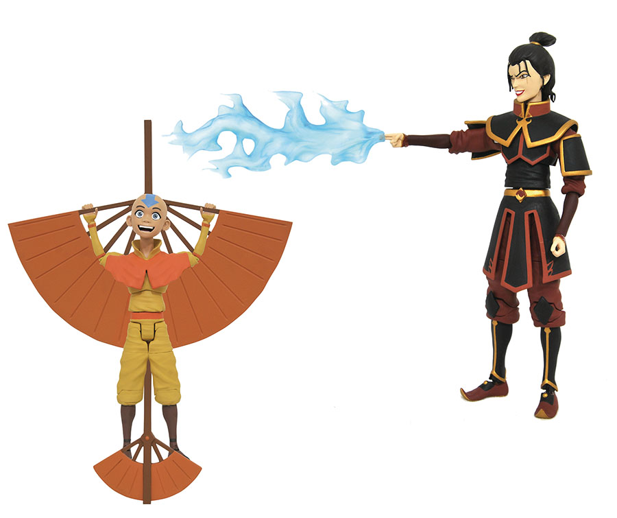 Avatar The Last Airbender Action Figure Series 2 Assortment Case