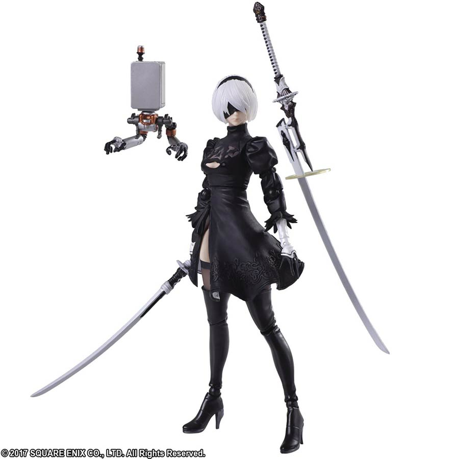 Nier Automata Bring Arts 2B Yorha No 2 Type B 2.0 Action Figure