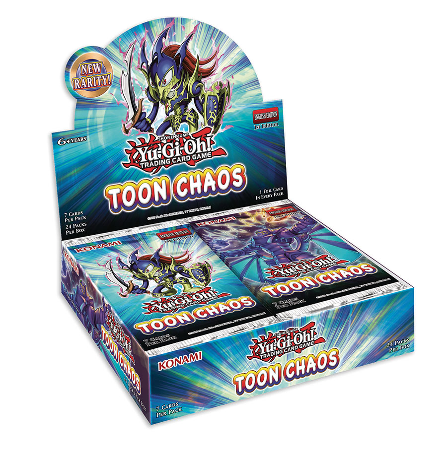 Yu-Gi-Oh Toon Chaos Booster Display Of 24 Packs