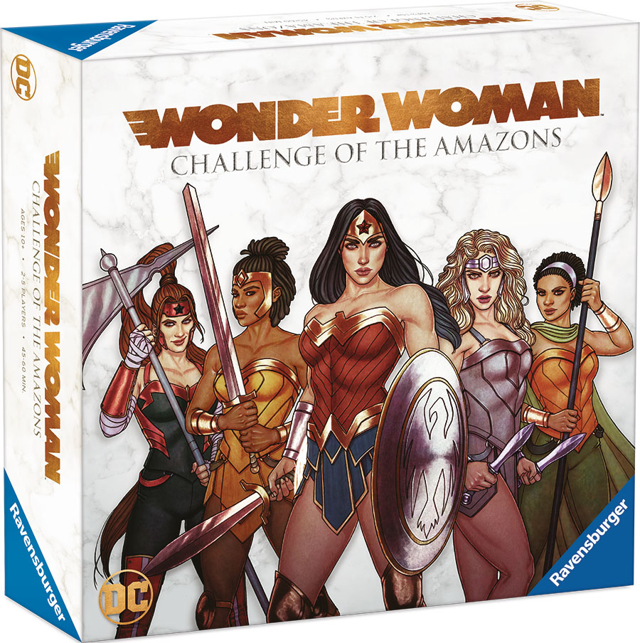 Wonder Woman Challenge Of The Amazons Board Game